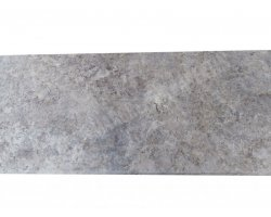 Travertin Silver Marche D'escalier 100x35x3 cm Vieilli  2