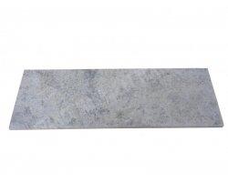 Travertin Silver Marche Escalier 120x32x3 cm Adouci