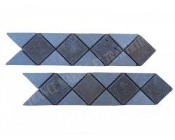 Marbre Frise Beige - Noce 28x6 cm 2