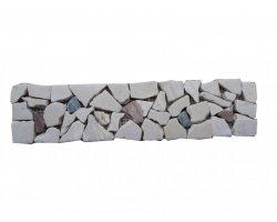 Marbre Frise Mixte Opus Palladian 30,5x7,5 cm