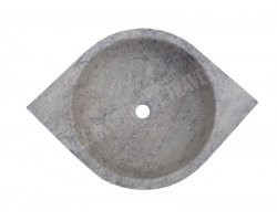 Travertin Silver Vasque œil Adouci