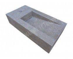 Travertin Silver Lave Main 25x50 cm Adouci 2