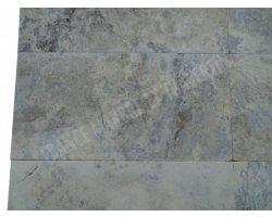 Travertin Silver Gris 30x60x1,2 cm Vieilli 2