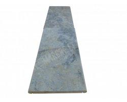 Travertin Silver Couvertine 30x61x3 Arrondi Goutte d'eau 2