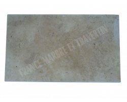 Travertin Beige Plan Vasque 100x60x3 cm 2