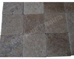 Travertin Classique Pavé 15x15x3 cm Antique  2