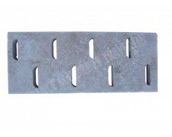 Travertin Classique Grille D 25x61x3 cm