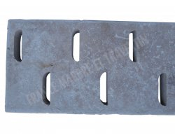Travertin Classique Grille D 25x61x3 cm   2