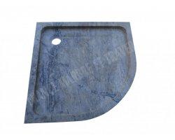 Travertin Silver Angle Bac à Douche 90x90x8 cm Adouci 2