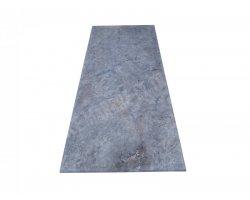 Travertin Silver Gris Plan Travail 155x67x3 cm  2
