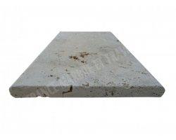 Travertin Beige Couvertine 33x61x3 cm Arrondi  2