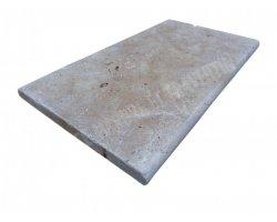 Travertin Beige Couvertine 35x61x3 cm Arrondi  2