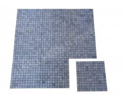 Marbre Silver Shadow Mosaïque 2,3x2,3 cm Poli 2