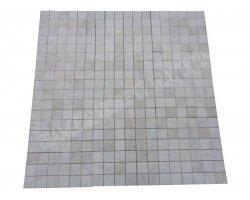 Marbre Blanc Carrara Turque Mosaïque 4,8x4,8 cm Poli 2