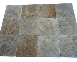 Travertin Classique Beige 40,6x40,6x1,2 cm Brossé
