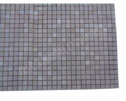 Marbre Marfil Beige Mosaique 1,5x1,5 cm Antique  2