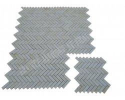 Marbre Beige Mosaïque 2,3x7,5 cm Parquet Poli 2