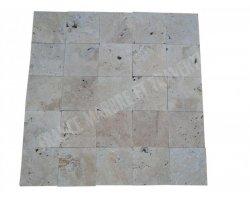 Travertin Classique Beige 15x15x1,2 cm Antique