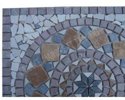 Marbre Mixte Rosace 61x61 cm Antique  2