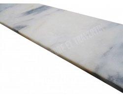 Marbre Blanc Marche D'escalier 110x32x3 cm Poli 2
