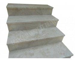 Marbre Crema Perla Marche D'escalier 100x32x3 cm Poli 2