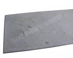 Marbre Marfil Beige Plan Vasque 166x60x3 cm Adouci 2
