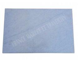 Marbre Blanc Plan Vasque 100x60x3 cm Adouci 2