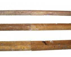 Travertin Mouleur Jaune 30x4,5 cm Ogee 1 Adouci 2