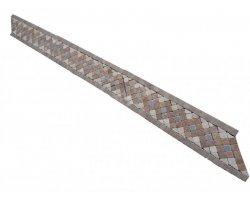 Travertin Frise Mixte Micro Mosaïque 23x6,5 cm 2
