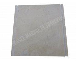 Marbre Beige Couvertine Chanfreiné 30x30 cm Poli 2