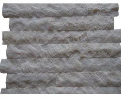 Marbre Blanc Parement 7,5 cm x Bande Libre Éclate 2