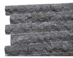 Marbre Noir Parement 10 cm x Bande Libre Éclate  2