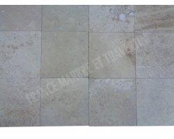 Travertin Classique Beige 20x20x1,2 cm Adouci 2