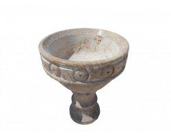 Travertin Classique Pot a Fleur 50x50x50 cm