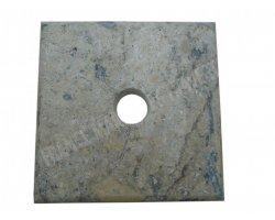 Travertin Silver Chapeau Pilier 20x20x3 cm