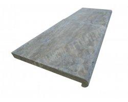 Travertin Silver Nez De Marche 40x60x5 cm Arrondi 2