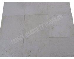 Calcaire Jérusalem 40x40x1,2 cm Brossé 2