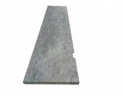 Travertin Silver Marche Escalier 130x30x3 cm Vielli 2