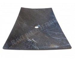 Marbre Noir Vasque Plat 45x65x10 cm 2