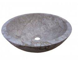Marbre Silver Shadow Vasque Bol Poli