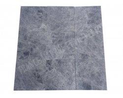 Marbre Noir Clair 30x30x2 cm Adouci  2