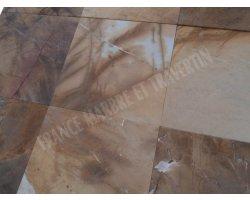 Marbre Jaune Picasso 40x40x1,2 cm Brossé   2