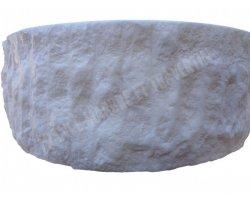 Marbre Blanc Vasque Cylindre Éclate 2