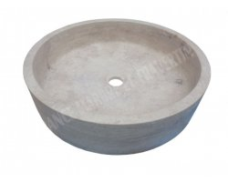 Travertin Classique Vasque Grande Cylindre 2
