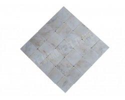 Marbre Afyon Blanc 15x15 cm Antique 2