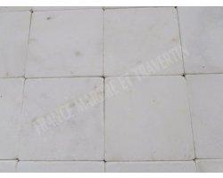 Marbre Afyon Blanc 20x20 cm Antique 2