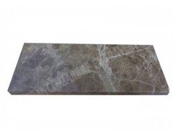 Marbre Emperador Plinthe 20x8x1,2 cm Poli