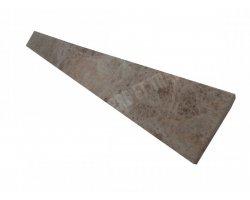 Marbre Marron Plinthe 40x8x1,2 cm Poli  2