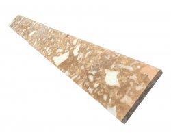 Marbre Marfil Toros Beige Plinthe 30x8x1,2 cm Poli 2
