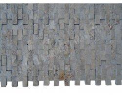 Travertin Noce Mosaïque 2,5x5 cm Éclate 2